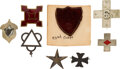 Military & Patriotic:Civil War, Corps Badges: Collection of Eight Civil War Badges.. ...
