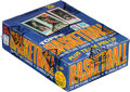 Basketball Cards:Unopened Packs/Display Boxes, 1980 Topps Basketball Wax Box with 36 Unopened Packs - Magic Johnson & Larry Bird Rookie! ...