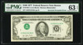 Inverted Third Printing Error Fr. 2168-A $100 1977 Federal Reserve Note. PMG Choice Uncirculated 63 EPQ