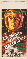"""Movie Posters:Science Fiction, The Day the Sky Exploded (Lux, 1958). Folded, Very Fine. Italian Locandina (13.25"""" X 27.5"""") Studio Favalli/Alessandro Biffig..."""