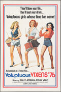 """Movie Posters:Adult, Voluptuous Vixens & Other Lot (Hemisphere Pictures, 1972). Folded, Very Fine-. One Sheets (2) (27"""" X 41""""). Adult.. ... (Total: 2 Items)"""