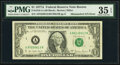 Five Digit Mismatched Serial Number Error Fr. 1910-A $1 1977A Federal Reserve Note. PMG Choice Very Fine 35 EPQ