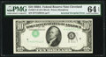 Error Notes:Inverted Third Printings, Inverted Third Printing Error Fr. 2011-D $10 1950A Federal Reserve Note. PMG Choice Uncirculated 64 EPQ.. ...