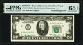 Error Notes:Doubled Face Printing, Doubled Print Error Fr. 2072-B $20 1977 Federal Reserve Note. PMG Gem Uncirculated 65 EPQ.. ...