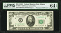 Error Notes:Mismatched Serial Numbers, Mismatched Serial Number Error Fr. 2062-F $20 1950C Federal Reserve Note. PMG Choice Uncirculated 64 EPQ.. ...