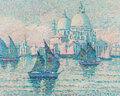 Paintings, Jeanne Selmersheim-Desgrange (French, 1877-1958). Venise. Oil on canvas. 28-3/4 x 36-1/4 inches (73.0 x 92.1 cm). Signed...