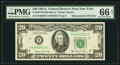 Error Notes:Mismatched Serial Numbers, Mismatched Serial Number Error Fr. 2074-B $20 1981A Federal Reserve Note. PMG Gem Uncirculated 66 EPQ.. ...