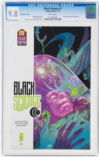 Black Science #7 Convention Edition (Image, 2014) CGC NM/MT 9.8 White pages