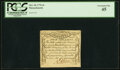 Colonial Notes:Massachusetts, Massachusetts October 18, 1776 4 Shillings Fr. MA-232 PCGS Extremely Fine 45.. ...