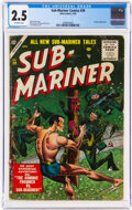 Golden Age (1938-1955):Superhero, Sub-Mariner Comics #39 (Timely, 1955) CGC GD+ 2.5 Off-white pages....