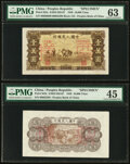 China People's Bank of China 10,000 Yuan 1949 Pick 853s S/M#C282-67 Front and Back Specimen PMG Choice Uncirculate