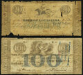Obsoletes By State:Louisiana, New Orleans, LA-Bank of Louisiana $20 1850s-60s Very Good;. New Orleans, LA-Bank of Louisiana $100 May 22, 1862 ... (Total: 2 notes)