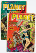 Golden Age (1938-1955):Science Fiction, Planet Comics #67 and 73 Group (Fiction House, 1952-53).... (Total: 2 Comic Books)