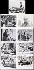 """Movie Posters:Foreign, Le Mepris (Embassy, 1964). Overall: Very Fine-. Photos (13) & Behind the Scenes Photo (8"""" X 10"""") U.S. Title: Contempt. F... (Total: 14 Items)"""