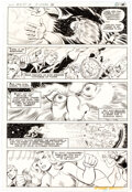 Original Comic Art, Joe Staton and Murphy Anderson Superboy and the Legion of Super-Heroes #245 Story Page 17 Original Art (DC, 1978)....