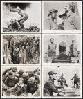 """Movie Posters:War, Paths of Glory (United Artists, 1958). Overall: Fine/Very Fine. Photos (12) (8"""" X 10""""). War.. ... (Total: 12 Items)"""
