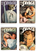 Pulps:Adventure, Doc Savage Group of 4 (Street & Smith, 1939) Condition: Average VG+.... (Total: 4 Items)