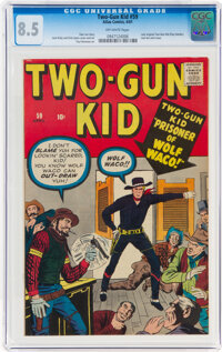 Two-Gun Kid #59 (Marvel, 1961) CGC VF+ 8.5 Off-white pages