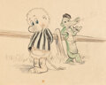 Animation Art:Production Drawing, Pogo and Albert Sketch Original Art (c. 1950s). Wa...