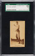 Baseball Cards:Singles (Pre-1930), 1887-90 N172 Old Judge Bill Hafner (#207-4) SGC 84 NM 7. ...