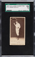 Baseball Cards:Singles (Pre-1930), 1887-90 N172 Old Judge Handsome Boyle (#36-2) SGC 84 NM 7. ...