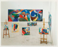 Prints & Multiples, David Hockney (b. 1937). The Studio #26, 1995. Inkjet print in colors on Somerset wove paper. 35-1/4 x 44 inches (89.5 x...