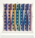Prints & Multiples, Yaacov Agam (b. 1928). Tribute of the People of Israel to the People of the United States, 1985. Screenprint in colors o...