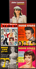 """Movie Posters:Miscellaneous, Movie Stars Parade Magazine & Other Lot (Ideal, 1957-1958). Overall: Fine+. Magazines (11) (Multiple Pages, Approx. 8.5"""" X 1... (Total: 11 Items)"""