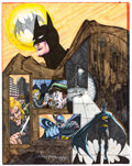 Original Comic Art:Illustrations, Bruce Timm - Batman Illustration Original Art (1980). ...