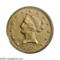 Liberty Eagles: , 1878-CC $10 AU50 PCGS. Variety 1-A. The 1878-CC is one of ...