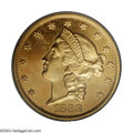 Proof Liberty Double Eagles: , 1868 $20 PR64 Cameo PCGS. As a business strike, the 1868 ...