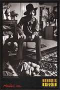 """Movie Posters:Rock and Roll, Hendrix in Britain (Handel House Museum, 2010). Rolled, Very Fine+. British Exhibition Double Crown (20"""" X 29.75"""") Barrie We..."""