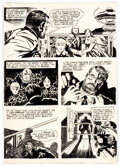 Original Comic Art, Jack Kirby and Vince Colletta Spirit World #1 Story Page 9 Original Art (DC/Hampshire Distributors, 1971)....