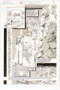 Original Comic Art:Splash Pages, Gray Morrow The Spectre #11 Splash Page 1 Original Art (DC, 1988)....