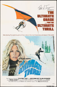"""The Ultimate Thrill (L-T Films, 1974). Folded, Fine/Very Fine. One Sheet (27"""" X 41"""") John Solie Artwork. Crime..."""