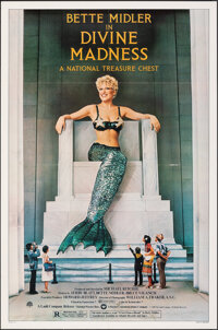 """Divine Madness (Warner Bros., 1980). Folded, Very Fine+. One Sheets (2) (27"""" X 41"""") Styles A & B. Musical..."""