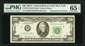 Error Notes:Mismatched Serial Numbers, Mismatched Serial Number Error Fr. 2074-B $20 1981A Federal Reserve Note. PMG Gem Uncirculated 65 EPQ.. ...