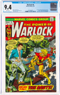 Bronze Age (1970-1979):Superhero, Warlock #6 (Marvel, 1973) CGC NM 9.4 White pages....