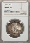 Franklin Half Dollars, 1950 50C MS66 Full Bell Lines NGC. NGC Census: (69/8). PCGS Population: (328/25). CDN: $375 Whsle. Bid for NGC/PCGS MS66. ...