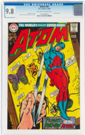 Silver Age (1956-1969):Superhero, The Atom #35 (DC, 1968) CGC NM/MT 9.8 Off-white to white pages....