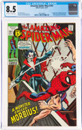 Bronze Age (1970-1979):Superhero, The Amazing Spider-Man #101 (Marvel, 1971) CGC VF+ 8.5 Off-white to white pages....