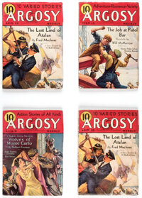 Argosy Group of 10 (Munsey, 1932-33) Condition: Average VG+.... (Total: 10 Items)