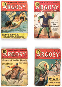 Argosy Group of 7 (Munsey, 1934-36) Condition: Average VG+.... (Total: 7 Items)