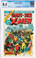 Bronze Age (1970-1979):Superhero, Giant-Size X-Men #1 (Marvel, 1975) CGC VF+ 8.5 White pages....