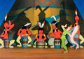Animation Art:Production Cel, Peter Pan Production Cel with Painte...