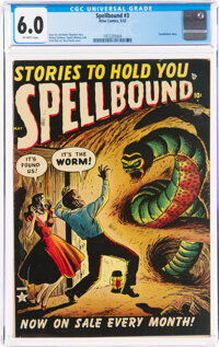 Spellbound #3 (Atlas, 1952) CGC FN 6.0 Off-white pages