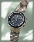 "Timepieces:Wristwatch, Omega, Massive and Rare Seamaster ""Big Blue"" Chronograph, ..."
