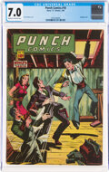 Golden Age (1938-1955):Crime, Punch Comics #18 (Chesler, 1946) CGC FN/VF 7.0 Cream to off-white pages....