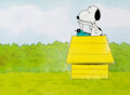Animation Art:Production Cel, Peanuts The Charlie Brown and Snoopy Show
