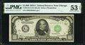 Small Size:Federal Reserve Notes, Fr. 2212-G $1,000 1934A Federal Reserve Note. PMG About Uncirculated 53 EPQ.. ...